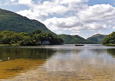Muckross Lake Art Print by Steve Watson