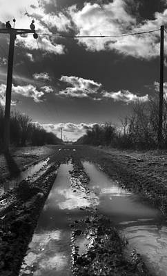 Photograph - Mucky Lane by Gabi Dziok-Grubb