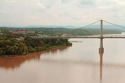 Photograph - Mud Hudson Bridge by Joey Huertas
