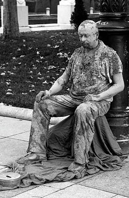 Photograph - Mud Man by Lorraine Devon Wilke