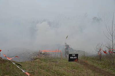 Photograph - Mudder Smoke by Randy J Heath