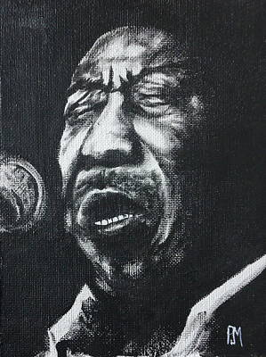 Muddy Waters Painting - Muddy by Pete Maier
