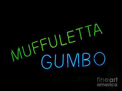 Leda Photograph - Muffuletta by Leslie Leda