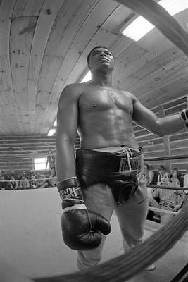 Photograph - Muhammad Ali Big Belt by Jan W Faul