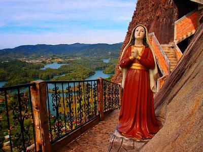 Guatape Photograph - Mujer De La Piedra by Skip Hunt
