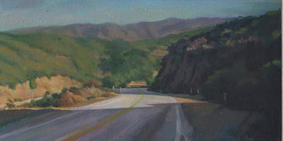 Painting - Mulholland Drive by Harvey Cusworth