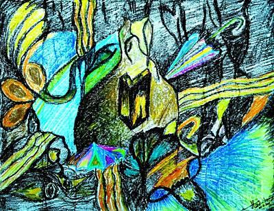 Painting - Multi-color Solutions by Hari Om Prakash