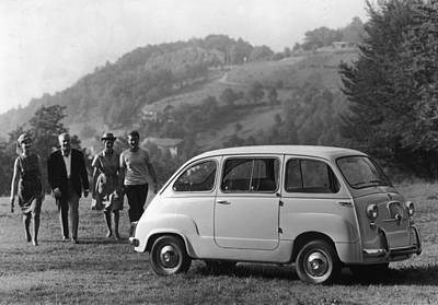 Multipla 4 Art Print by Archive Photos