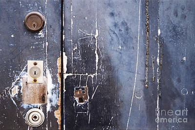 Print featuring the photograph Multiple Locks by Agnieszka Kubica