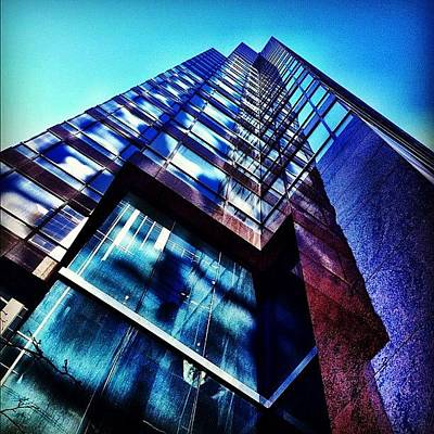 Skyscraper Wall Art - Photograph - Multiple Reflections by Christopher Campbell