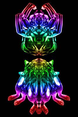 Multiplicity 2 Art Print by David Kleinsasser