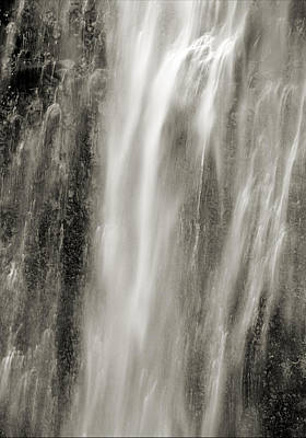 Photograph - Multnomah Cascade 4 Platinum by Lora Fisher