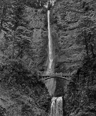 Photograph - Multnomah Falls by Eric Tressler