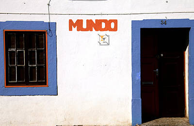Photograph - Mundo by Jez C Self