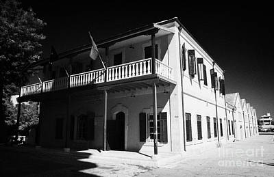 Municipal Cultural Centre And City Museum And Archives In The Restored Old Colonial Port Larnaca  Art Print by Joe Fox