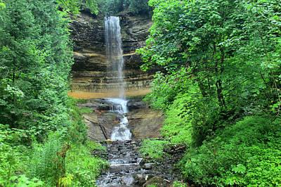 Photograph - Munising Falls by Matthew Winn