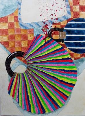 Murder She Wrote Art Print by David Raderstorf