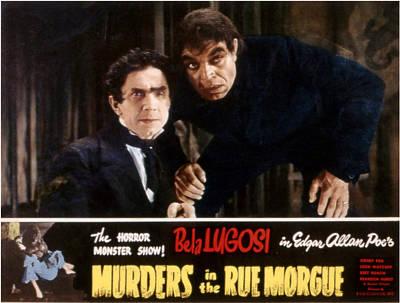 Bela Photograph - Murders In The Rue Morgue, Bela Lugosi by Everett