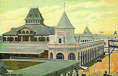 Painting - Murray's Pavilion At Rockaway Beach In 1922 by Dwight Goss