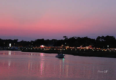 Photograph - Murrells Inlet Sunset by Suzanne Gaff