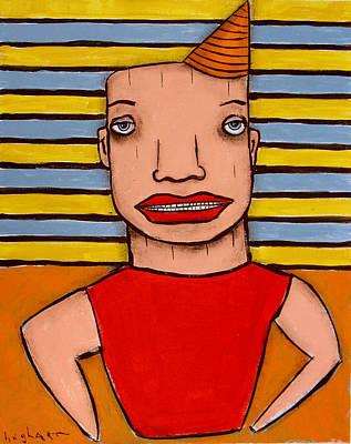 Painting - Muscleman by Jeff Hughart