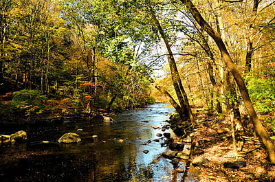 Musconetcong River Art Print
