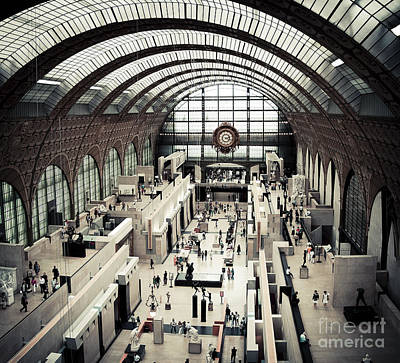 Musee D'orsay II Art Print by RicharD Murphy