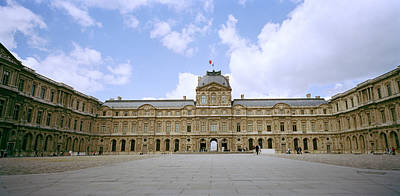 Paris Photograph - The Louvre by Shaun Higson