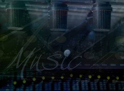 Music Art Print by Affini Woodley