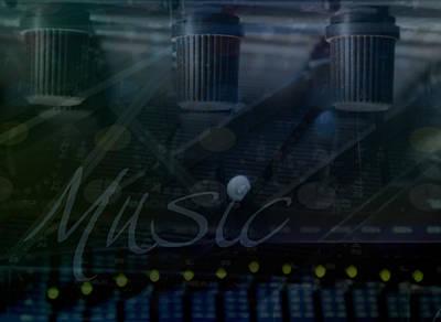 Processor Digital Art - Music by Affini Woodley