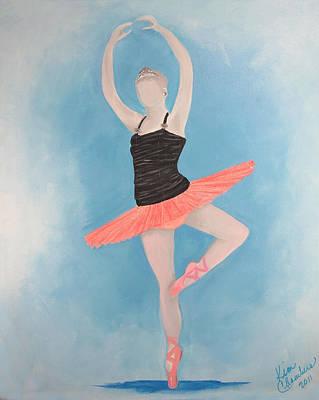 Painting - Music Box Ballerina by Kim Chambers