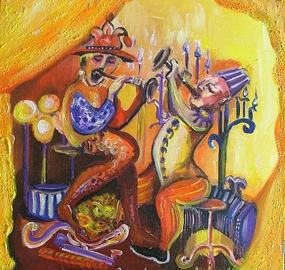 Painting - Musical Evening by Rita Fetisov