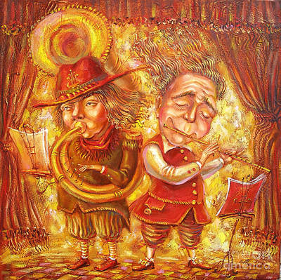 Music Holiday Art Print by Aleksandr Mironov