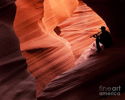 Music In The Canyon Art Print