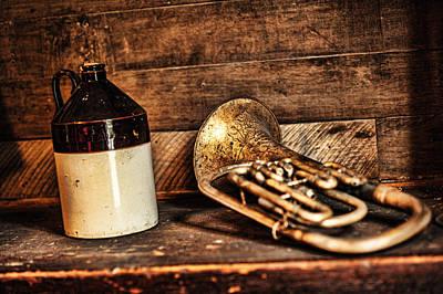 Thomas Kinkade Royalty Free Images - Music Jug Royalty-Free Image by Sheri Bartoszek