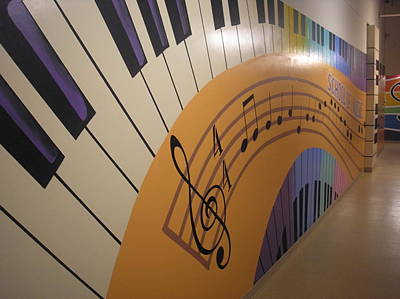 Painting - Music On The Wall 2 by Igor Postash