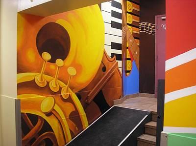 Painting - Music On The Wall by Igor Postash