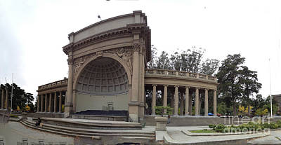 Digital Art - Music Pavillion At Golden Gate Park by Ron Bissett