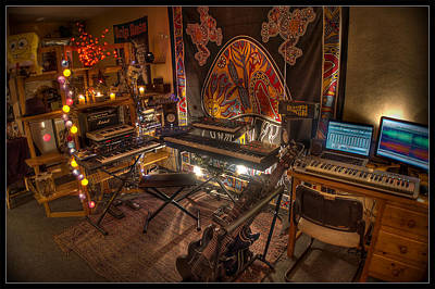 Photograph - Music Studio by Dany Lison
