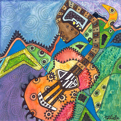 Painting - Music To My Eyes by Tanielle Childers