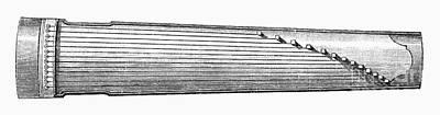 Musical Instrument: Koto Art Print