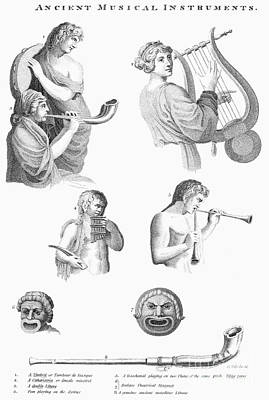 Musical Instruments Art Print by Granger
