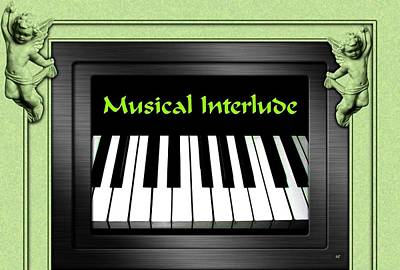 Digital Art - Musical Interlude   by Will Borden