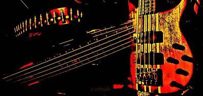Musical Panorama  Art Print by Chris Berry