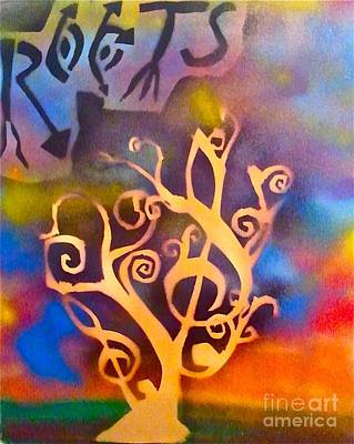 Conscious Painting - Musical Roots by Tony B Conscious