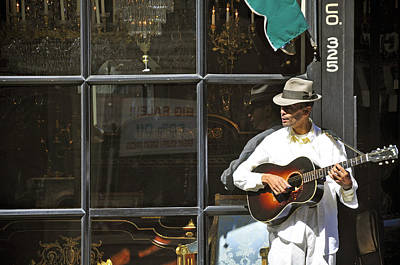 Photograph - Musician At The Window by Helen Haw