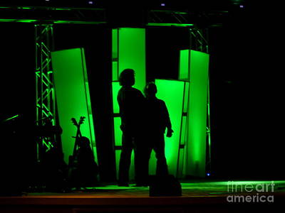 Photograph - Musicians Waiting In The Shadows by Renee Trenholm