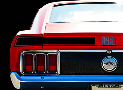 Digital Art - Mustang Mach 1 by Douglas Pittman