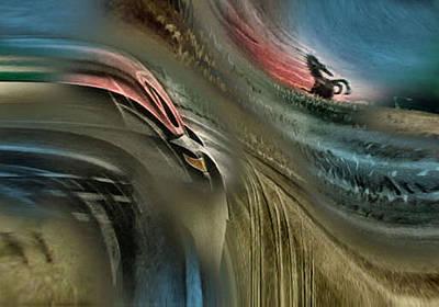 Photograph - Mustangscape 2 - 2010 by Glenn Bautista