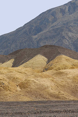 Digital Art - Mustard Canyon Death Valley National Park by Eva Kaufman